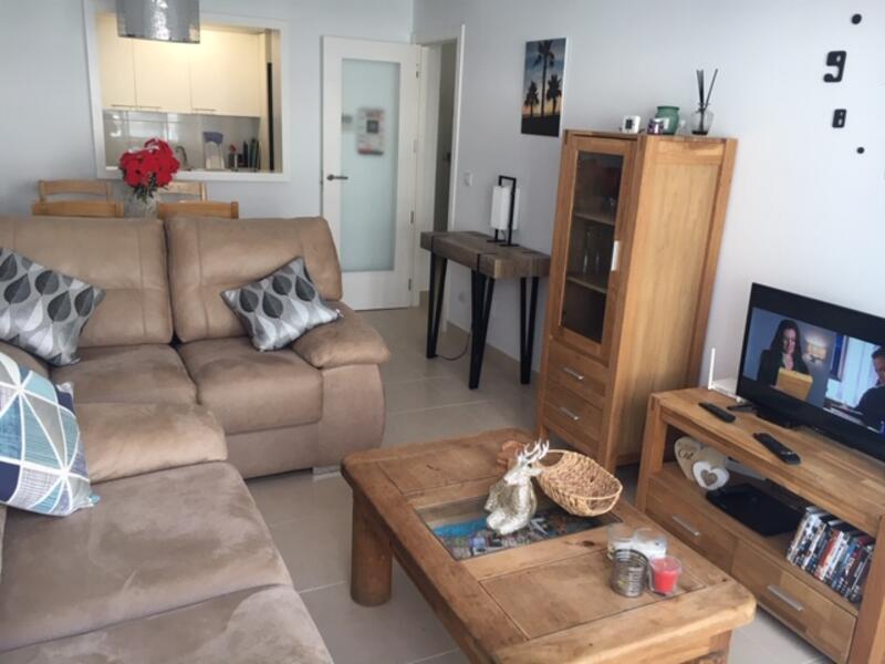 EP/SH/6-3: Apartment for Rent in Mojácar Playa, Almería