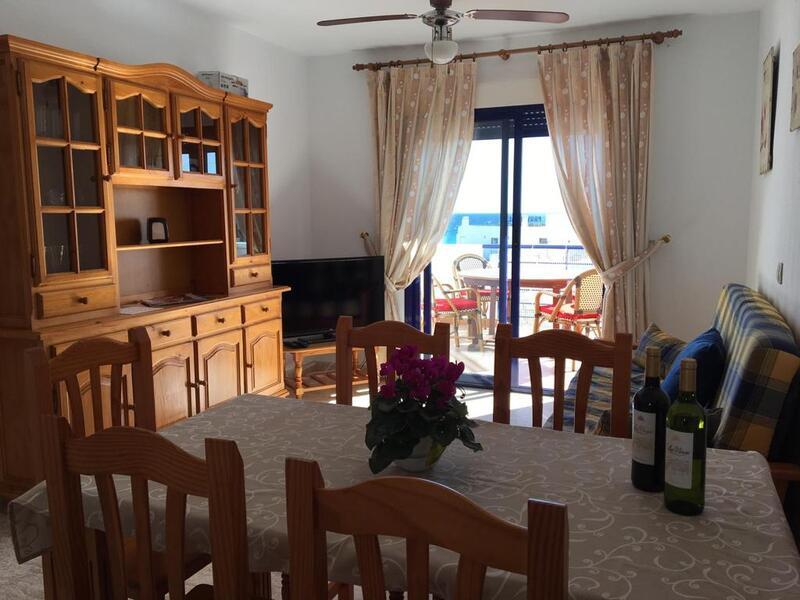 LA PERLA: Apartment for Rent in Mojácar Playa, Almería